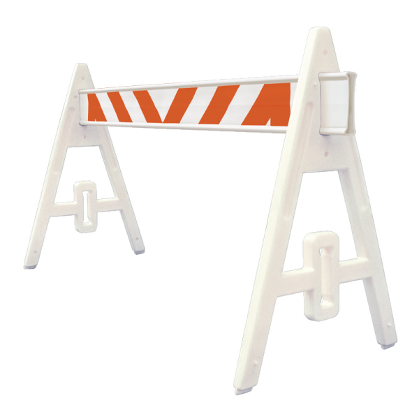 Código: BMS-120 Barrera plástica para protección en reparaciones viales o usada como señal de advertencia y control en retenes policiales y militares o en cualquier tipo de evento donde se requiere confinar áreas en específico. Al ser ensamblable se vuelve un accesorio fácil de armar, transportar y almacenar. Opción a llevar una o dos barreras. Se puede llenar de agua incrementando su peso y estabilidad. Fabricada en PVC con un tramo de defensa plástica. Resiste a fuertes impactos. Reflejante grado ingeniería. Medidas: Altura: 100.07 cm. Ancho: 72.0 cm. Largo: 200.0 cm. Caballete: Amarillo o blanco. Barrera: Blanco.