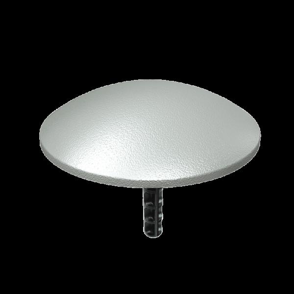 Código: BOT-AL El botón más solicitado del mercado. Fabricado en aluminio. Ligero pero con perfecta resistencia al múltiple paso de vehículos. Ideales como reductores de velocidad, para señalar zonas peatonales, cruces, vueltas, etc. En dos versiones: liso o con dos caras de reflejante. Perno opcional. Medidas: Diámetro: 10.0 cm. Alto: 2.0 cm.