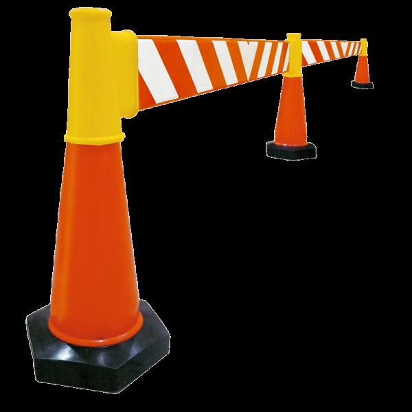 Código: BSP-001 Barrera preventiva excelente para desviar el tráfico en calles o carreteras, restringir el acceso en zonas de obra o empleadas también para crear cajones de estacionamiento temporales. Ligeras y de fácil armado. Buena estabilidad proporcionada por los conos con peso que las soportan. Presentaciones de una o dos barreras. Fabricadas en polietileno de media densidad con U.V. Medidas: Largo: 200.0 cm. Alto: 100.0 cm. Base hexagonal: 20.0 cm. por lado. Cuerpo de barrera: naranja.