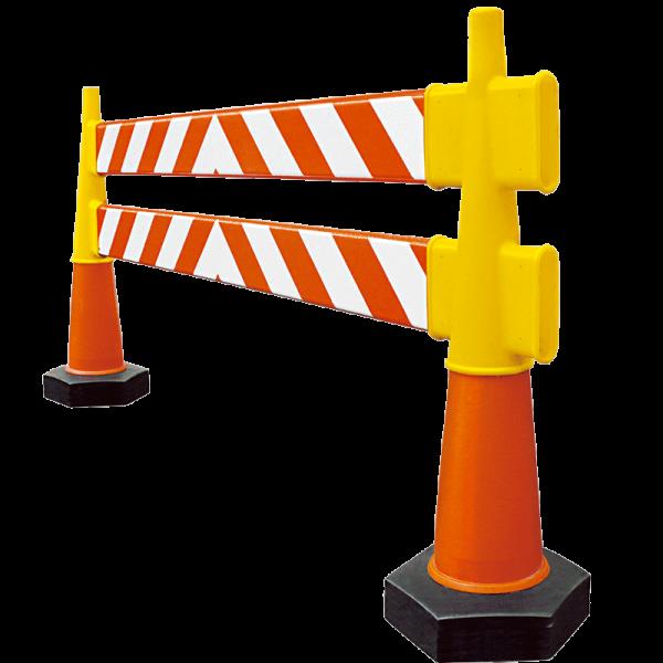 Código: BSP-002 Barrera preventiva excelente para desviar el tráfico en calles o carreteras, restringir el acceso en zonas de obra o empleadas también para crear cajones de estacionamiento temporales. Ligeras y de fácil armado. Buena estabilidad proporcionada por los conos con peso que las soportan. Presentaciones de una o dos barreras. Fabricadas en polietileno de media densidad con U.V. Resistentes a fuertes impactos. Medidas: Largo: 200.0 cm. Alto: 100.0 cm. Base Hexagonal: 20.0 cm por lado. Cuerpo de barrera: naranja.