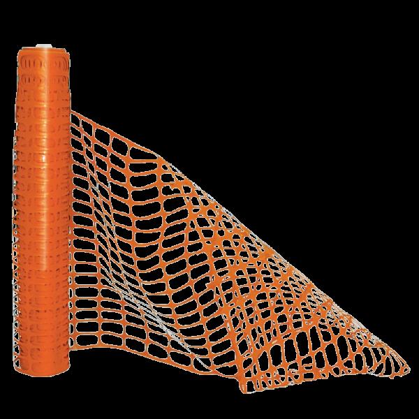 Código: CP-NA Malla fabricada en polipropileno especial para confinar áreas en construcción u obra viales. En combinación con Fantaflex Fan 47 se logra aumentar la tensión al extenderla. Resistente contra los rayos U.V. Medidas: Rollo de: 30.5 mts. Alto: 120.0 cm. Peso del rollo: 9,0 k Tejido de malla: Largo: 8.0 cm Altura: 4.5 cm. Color: Naranja.