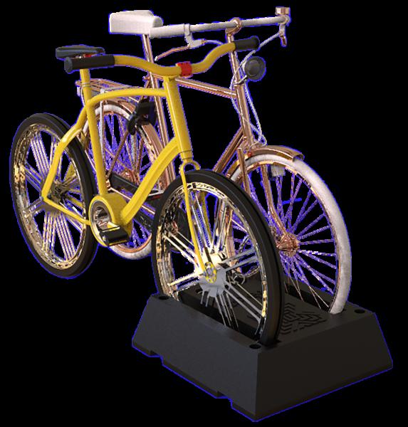 Bici Estacionamiento Dual